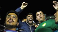 Mauro Boselli apoya en la tribuna a León en la Copa MX