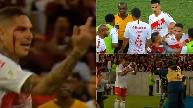 Paolo Guerrero intercambió camisetas