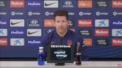 Simeone cree que Joao Félix y Griezmann pueden jugar juntos
