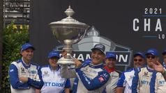 Álex Palou hace historia al ganar la IndyCar