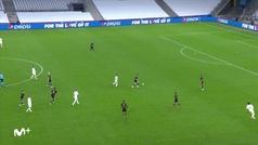 Una maravilla de jugada de librillo de Pep: 27 pases... y gol de Sterling