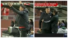 Así vivió el Mono Burgos su primer triunfo como técnico: con lo que él es, ¡sorprende su calma!