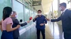 Así anunció Bolsonaro su positivo por positivo: los periodistas alucinaron...