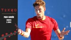 Pablo Carreño se viste de número uno para colgarse el bronce ante Djokovic