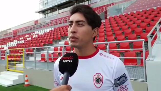 """Omar Govea: """"Llegar al Royal Antwerp es un paso hacia adelante"""""""
