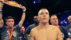 Warrington, con Pablo Hernández llevándole el cinturón de campeón, ganó por KO a Takoucht