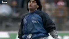MX Se cumplen 30 años del calentamiento más famoso de Maradona al ritmo de 'Live is life'