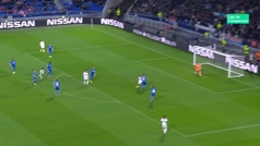 Gol de Fekir (1-0) en el Lyon 2-2 Hoffenheim