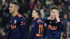 Copa del Rey (semis, ida): Resumen y goles del Betis 2-2 Valencia