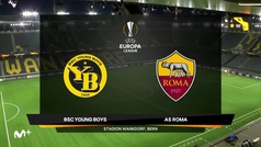 Europa League (J1): Resumen y goles del Young Boys 1-2 Roma
