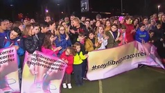 Las mujeres salen a correr en toda España para pedir libertad
