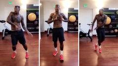 Boateng, en el gimnasio: ¡tan buen bailarín como central!