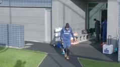 André Gomes vuelve a entrenar con el Everton 86 días después de su escalofriante lesión