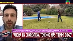"""Las confesiones del neurocirujano de Maradona: """"Pasaba días sin dormir"""""""