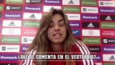 """Misa Rodríguez: """"Tenemos muy buen rollo entre las jugadoras del Madrid y del Barça"""""""