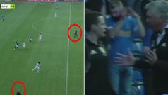 El árbitro añade 4 minutos, Ancelotti se cabrea... ¡y acaban señalando el final antes de tiempo!