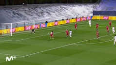 Gol de Vinícius (3-1) en el Real Madrid-Liverpool