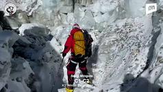 Imágenes del ascenso de Sergi Mingote y Juan Pablo Mohr al Campo 1 del K2