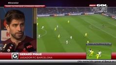 """Piqué: """"¿Las quejas del Madrid? Pasa en el fútbol, en el baloncesto... después van al Wanda y se callan"""""""