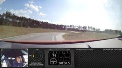 Así se conduce el Golf GTI 8... con manos de piloto