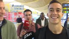 """Lucas Vázquez: """"¿Mbappé? Es muy bueno, pero no me encargo de los fichajes"""""""
