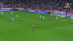 Gol de Stuani (1-0) en el Girona 3-2 Celta
