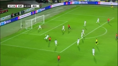 El fallo de Morata ante Bosnia en boca de gol