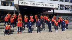 España se exhibe antes del Europeo