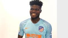 La segunda equipación del Atlético será celeste