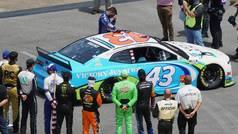 Bubba Wallace rompe en llanto con emotivo gesto en la NASCAR