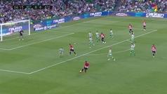 Gol de Iñaki Williams (0-1) en el Betis 2-2 Athletic