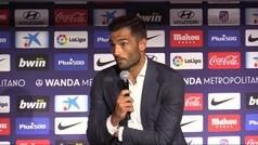 """Adan: """"Quería formar parte de un club como el Atlético y ganar"""""""