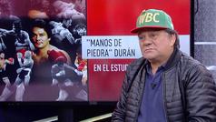 """Roberto Durán: """"Yo no veo que el Canelo pueda perder ante Rocky Fielding"""""""