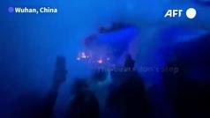 Wuhan regresa a la vida nocturna una año después de la pandemia