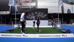 La ciudad de Madrid responde a la llamada de H&S para apoyar al fútbol femenino