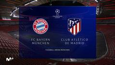 Champions League (J1): Resumen y goles del Bayern  4-0Atlético