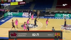 Liga ACB: Resumen Baskonia 82-71 Barcelona