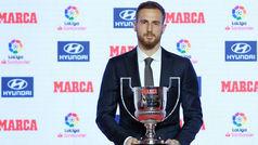 Premios MARCA: Oblak, Trofeo Zamora de la Liga 17/18