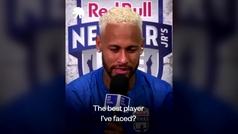 """Neymar elogia a Sergio Ramos: """"Es el mejor jugador al que me he enfrentado nunca"""""""