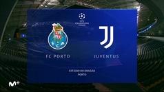 Champions League (Octavos ida): Resumen y goles del Oporto 2-1 Juventus