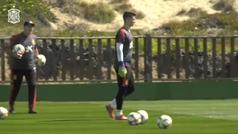 La selección vuelve al trabajo de cara al partido contra Malta