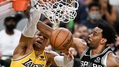 Westbrook ya gana partidos para los Lakers con animaladas como ésta