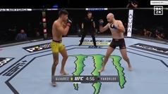 Joel Álvarez cumple su promesa y se reafirma en el UFC 254