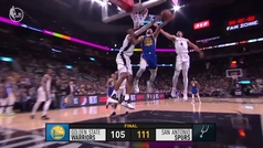 Spurs 111-105 Warriors