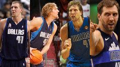 Las mejores canastas de Nowitzki en sus 20 temporadas en la NBA