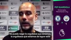El discurso de Guardiola tras derrotar al Chelsea: ¡al más puro estilo de su etapa en el Barcelona!