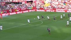 Así fue el posible penalti de Kjaer sobre Luis Suárez