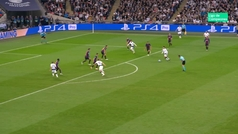Gol de Lamela (2-3) en el Tottenham 2-4 Barcelona