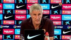 """Quique Setién: """"¿Culpable por perder la Liga? Le daría más mérito al Madrid"""""""
