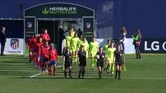 Copa de la Reina (semifinales): Resumen y goles del Atlético Femenino 2-0 FC Barcelona